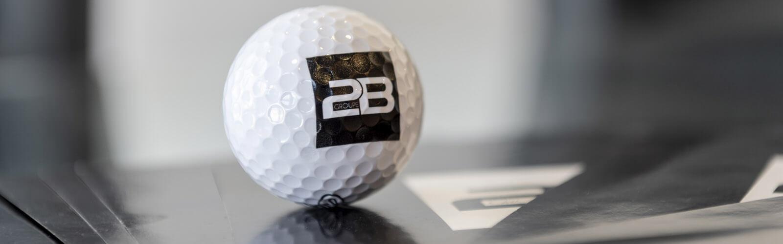 Groupe 2B balle de golf